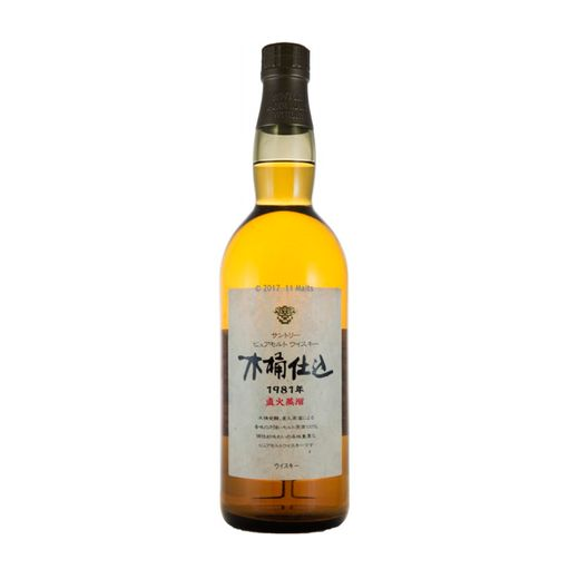 Whisky-Suntory-Kioke-Shikomi-1981-760ml