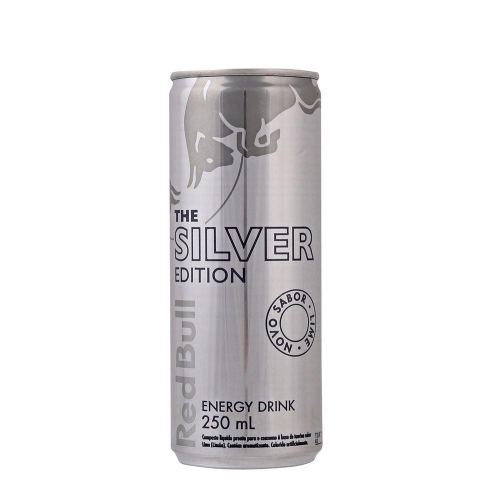 3f1d178e75118 Energetico Red Bull Silver Edition 250ml - Super Adega