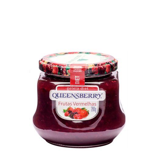 Geleia-Queensberry-Diet-Frutas-Vermelhas-280g