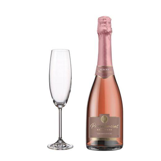 Kit-Super-Degustacao-Procedencias-Brut-Rose-750ml---Gratis-uma-Taca-Bordeaux-Gastro-220ml---