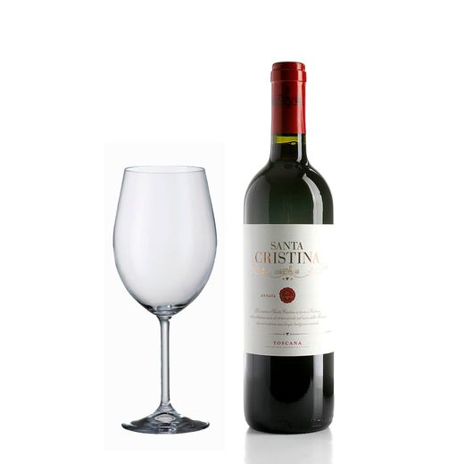 kit-Super-Degustacao-Vinho-Santa-Cristina-750ml--Gratis-uma-Taca-Bordeaux-580ml-