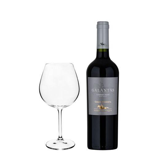 kit-Super-Degustacao-Vinho-Haras-de-Pirque-Galantas-750ml--Gratis-uma-Taca-Bordeaux-Gastro-650ml-